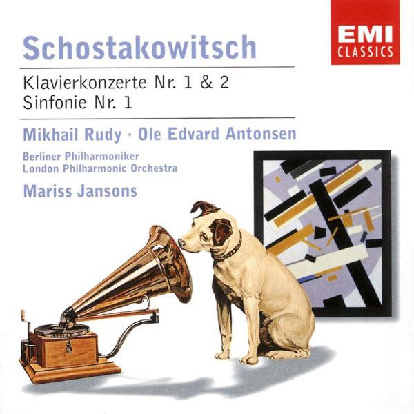 Mariss Jansons - Schostakowitsch: Klavierkonzert Nr. 1 & 2/Sinfonie Nr. 1