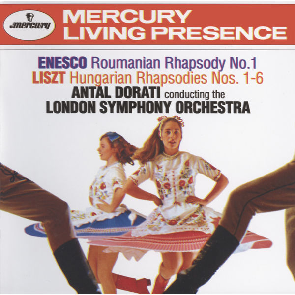 Liszt Antal Dorati London Symphony Orchestra Hungarian Rhapsodies Nos 1 4 5 And 6