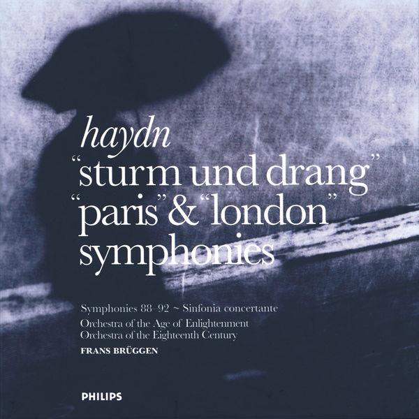 Frans Brüggen - Haydn:  Sturm und Drang, Paris & London Symphonies