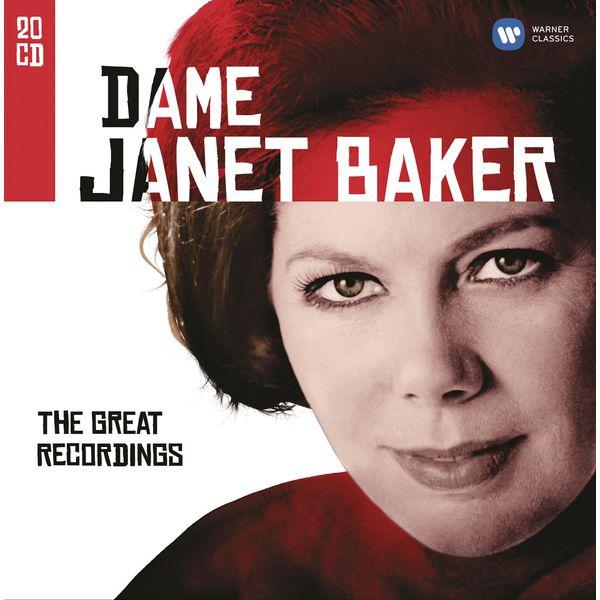 (Dame) Janet Baker - Dame Janet Baker (The Great EMI Recordings) : German Lieder, vol.1 (Schubert, Mendelssohn, Schumann, Brahms)