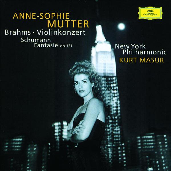 Anne-Sophie Mutter - Brahms: Violin Concerto In D Major, Op. 77 / Schumann: Fantasy For Violin And Orchestra In C Major, Op. 131