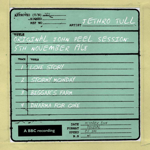 Jethro Tull - Original John Peel Session: 5th November 1968