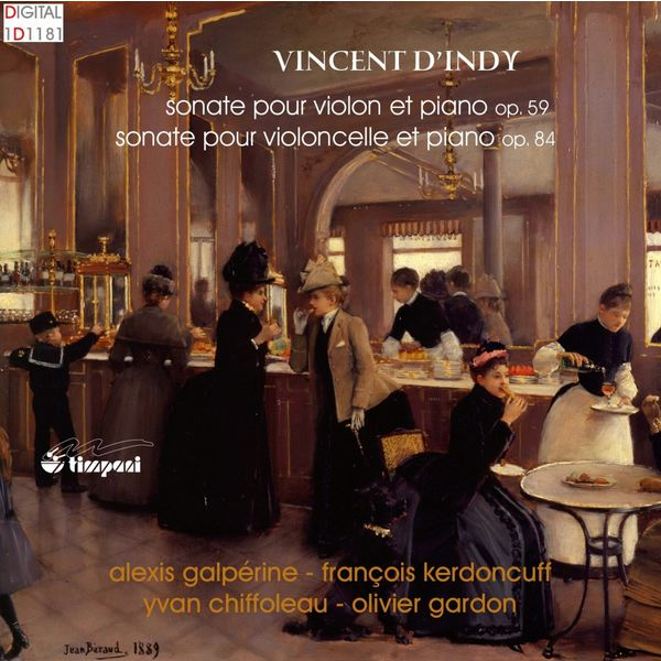 Various Artists - Vincent d'Indy: Sonata for violin & piano in C major Op.59 / Sonata for cello & piano in D Op.84