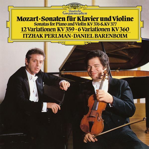 Itzhak Perlman - Mozart: Sonatas For Piano And Violin, K.376 & K.377; Variations K.359 & K.360