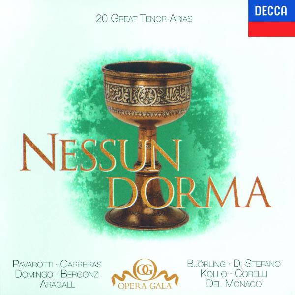 """Various Artists - 20 Great Tenor Arias - """"Nessun Dorma"""" - Bizet / Donizetti / Puccini / Verdi etc."""