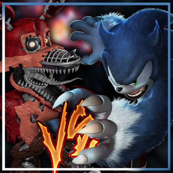 Album Sonic Werehog Vs Nightmare Foxy