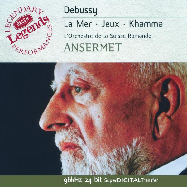 Orchestre De La Suisse Romande - Debussy: La Mer; Prélude à l'après-midi d'un faune; Jeux, etc.