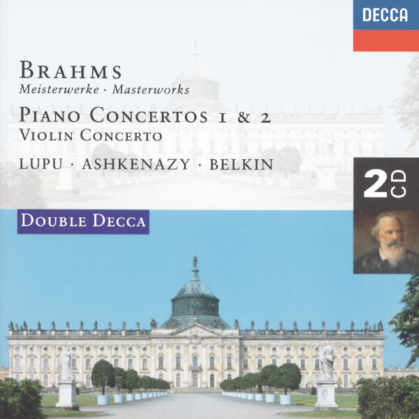 Radu Lupu - Brahms: Piano Concertos Nos.1 & 2/Violin Concerto
