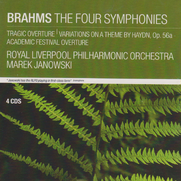 Marek Janowski - Brahms: The Four Symphonies; Tragic Overture; Variations on a Theme by Haydn, Op.56a; Academic Festival Overture