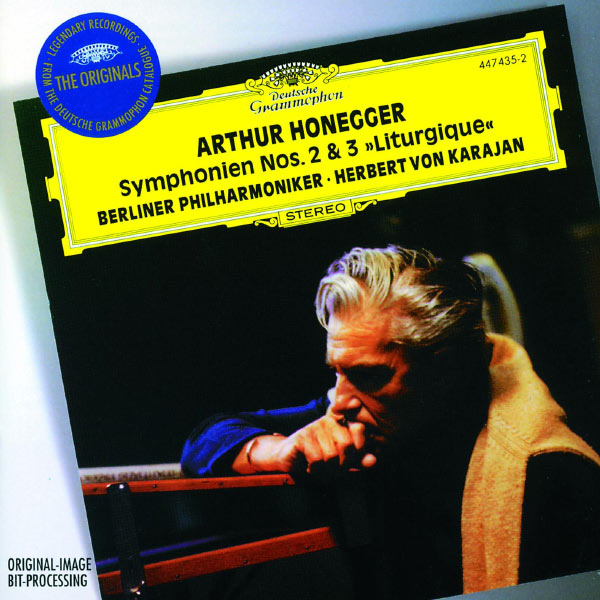 Herbert von Karajan - Honegger: Symphonies Nos.2 & 3 - Stravinsky: Concerto for String Orchestra
