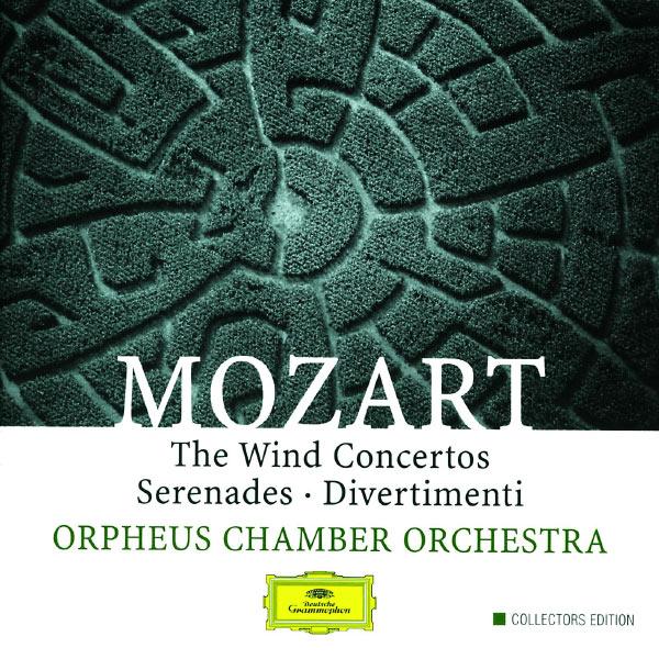 Mozart w a the wind concertos serenades for Chamber l orchestre de chambre noir