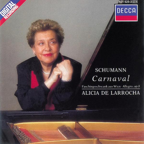 Alicia de Larrocha - Schumann: Carnaval, Faschingsschwank aus Wien