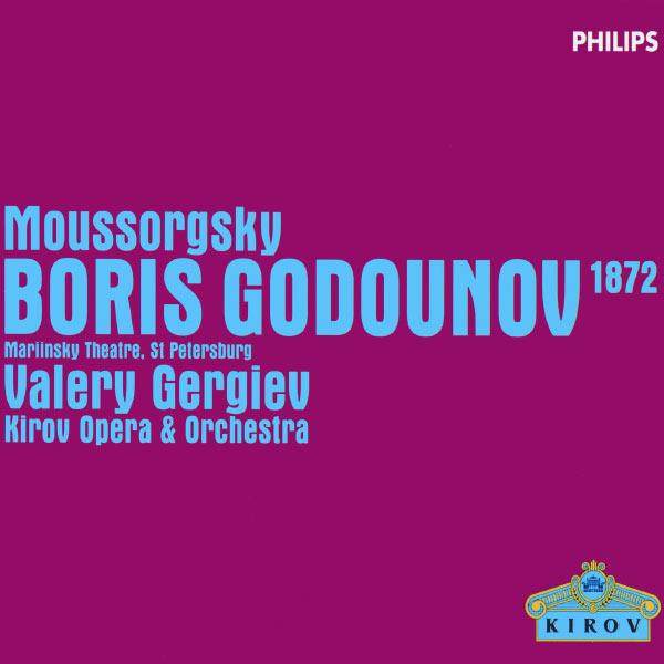Evgeny Nikitin|Modest Moussorgsky : Boris Godounov (1872 Version) (3 CDs)