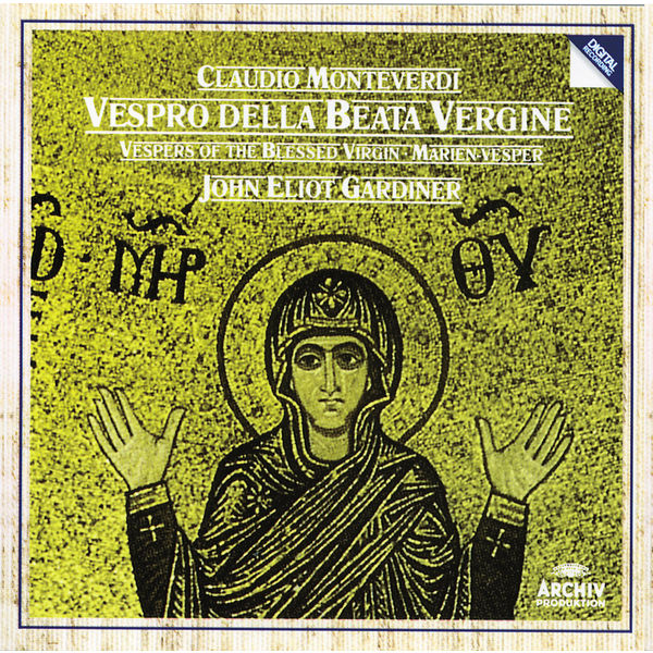 English Baroque Soloists - Monteverdi: Vespers of the Blessed Virgin