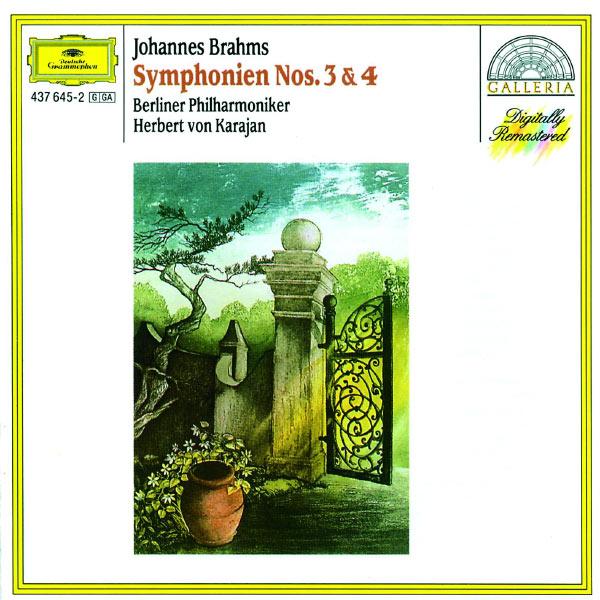 Berliner Philharmoniker - Brahms: Symphonies Nos.3 & 4