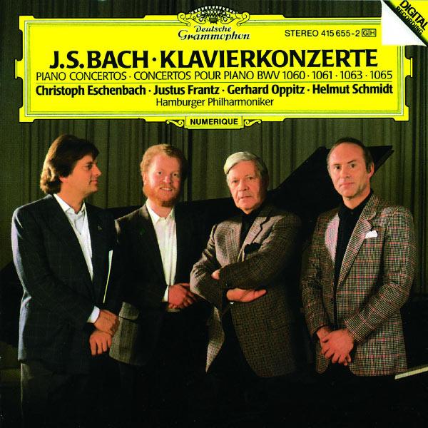 Christoph Eschenbach - Bach : Piano Concertos BWV 1060, 1061, 1063, 1065