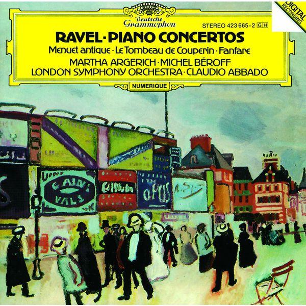 Michel Béroff - Ravel : Piano Concertos