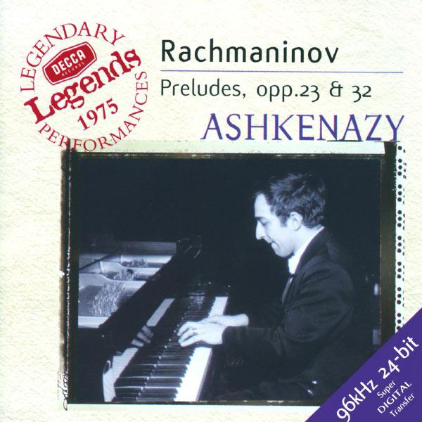 Vladimir Ashkenazy - Rachmaninov: Preludes, Op.3 Nos. 2, 23 & 32