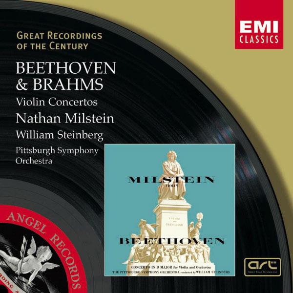 Nathan Milstein - Beethoven & Brahms:Violin Concertos