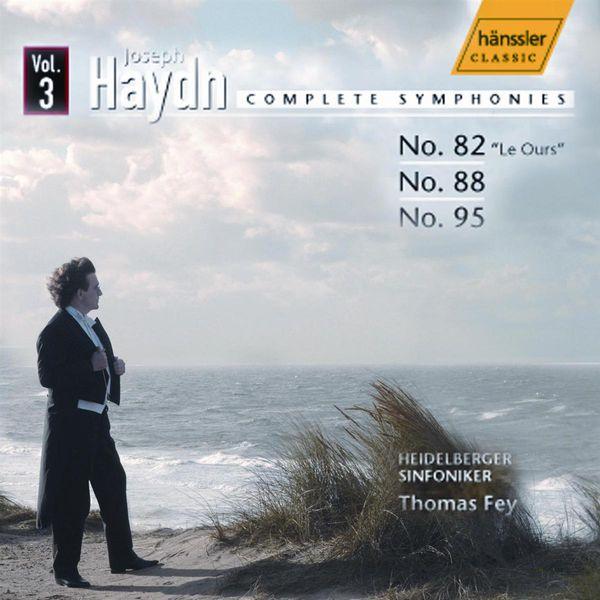 Heidelberg Symphony Orchestra - HAYDN, J.: Symphonies, Vol.  3 (Fey) - Nos. 82, 88, 95