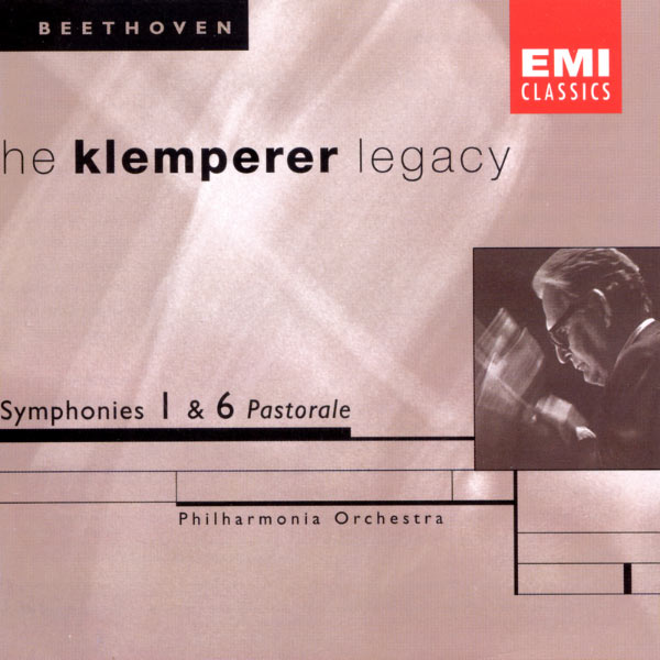 Philharmonia Orchestra - The Klemperer Legacy: Beethoven Symphonies Nos. 1 & 6