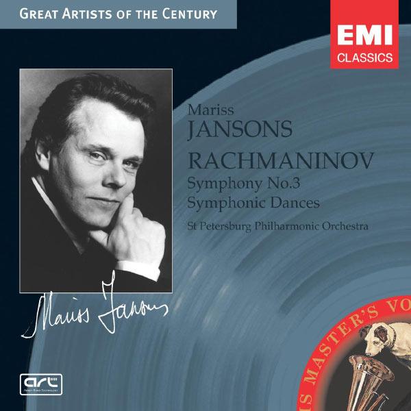 Mariss Jansons/St Petersburg Philharmonic Orchestra (Leningrad) - Rachmaninov: Symphony No.3, Op.44 & Symphonic Dances, Op.45