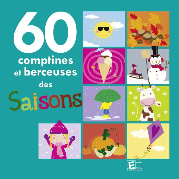 Various Artists - 60 comptines et berceuses des saisons