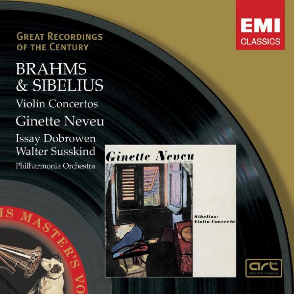 Ginette Neveu - Brahms & Sibelius: Violin Concertos