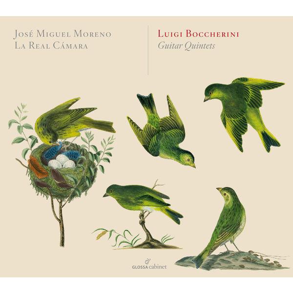 José Miguel Moreno - Boccherini: Guitar Quintets