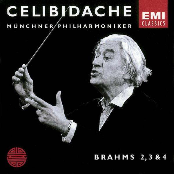 Sergiù Celibidache - Brahms: Nos. Symphonies 2 - 4