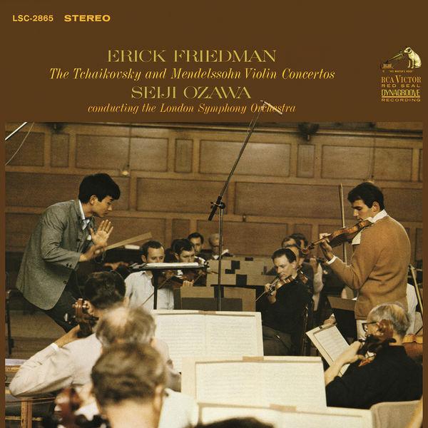 Erick Friedman - Tchaikovsky: Violin Concerto in D Major, Op. 35 & Mendelssohn-Bartholdy: Violin Concerto in E Minor, Op. 64