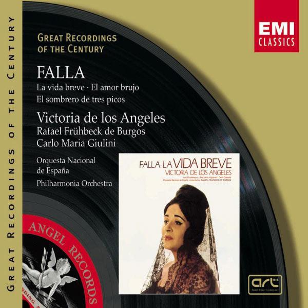 Victoria de los Angeles - Falla: La Vida Breve - El amor brujo - El sombrero de tres picos