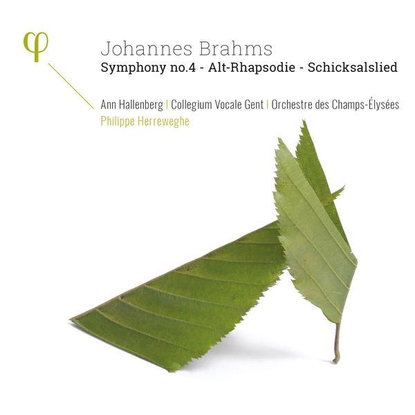 Philippe Herreweghe - Brahms: Symphony 4, Alt-Rhapsodie, Schicksalslied