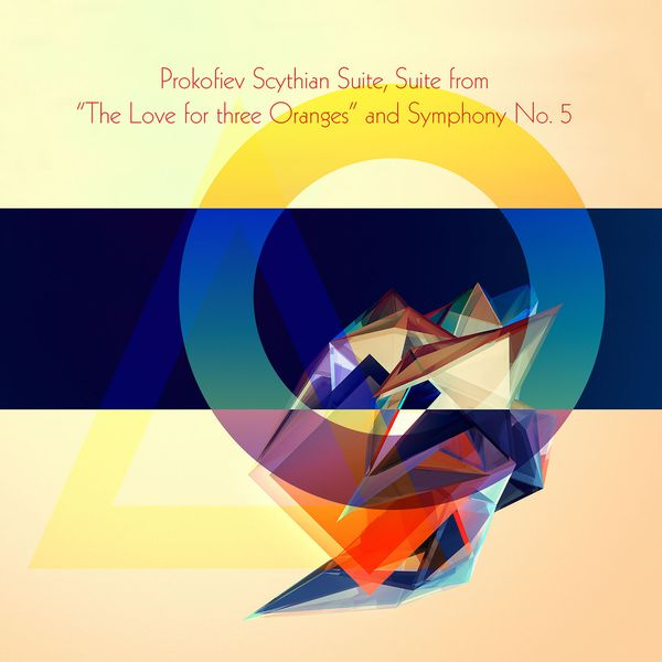 """Antal Doráti - Prokofiev Scythian Suite, Suite from """"The Love for three Oranges"""" and Symphony No. 5"""