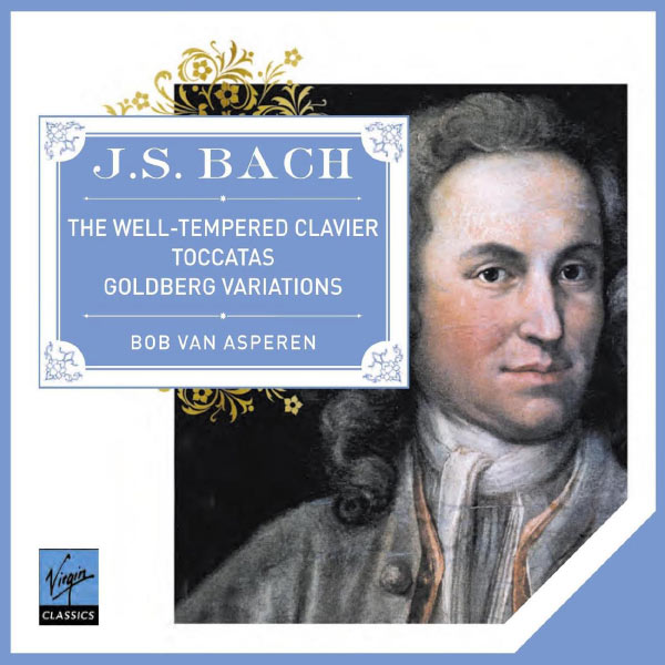 Bob Van Asperen - Bach: The Well-Tempered Clavier, Goldberg Variations & Toccatas