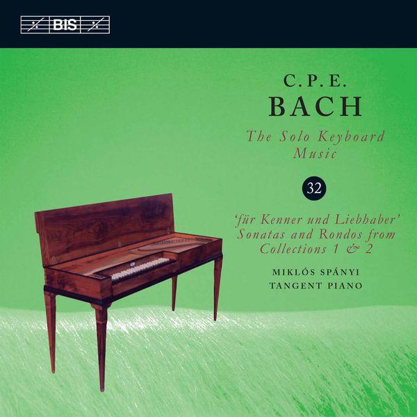 Miklos Spanyi - C.P.E. Bach: The Solo Keyboard Music, Vol. 32