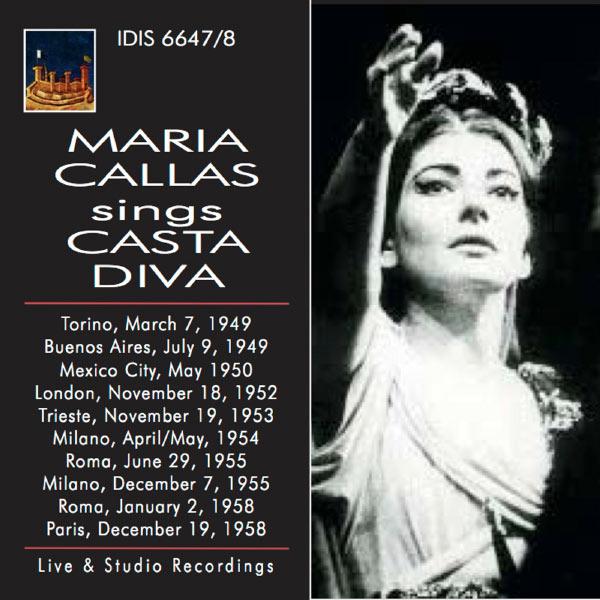 Maria Callas - Sings Casta Diva
