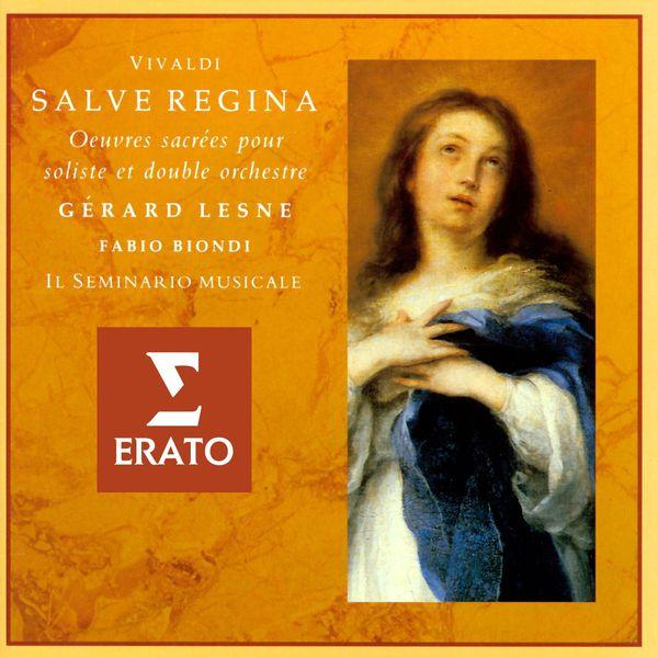 Gérard Lesne Vivaldi - Salve Regina: Sacred Works for Countertenor and Double Orchestra