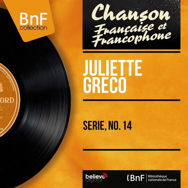 Juliette Gréco - Série, no. 14 (Mono Version)