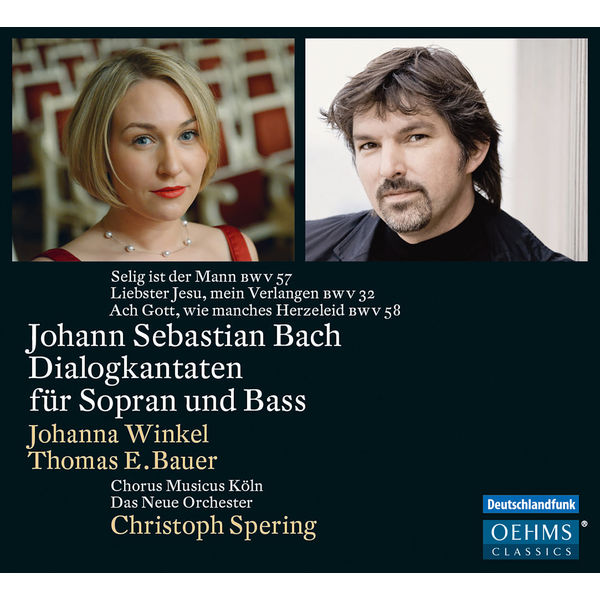 Christoph Spering - J.S. Bach: Cantatas for Soprano and Bass