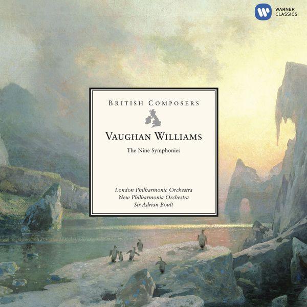 Sir Adrian Boult - Vaughan Williams : Les neuf symphonies