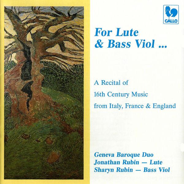 Geneva Baroque Duo - Renaissance Music Recital, from Italy, France & England