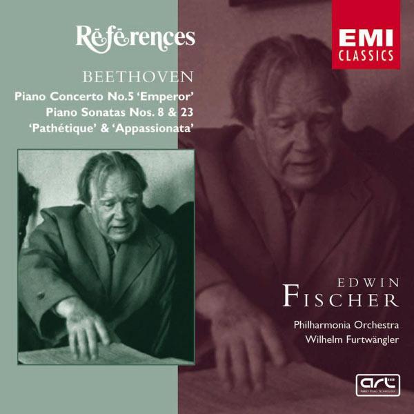 Edwin Fischer/Philharmonia Orchestra/Wilhelm Furtwängler - Beethoven: Piano Concerto No. 5/ Piano Sonatas Nos. 8 & 23