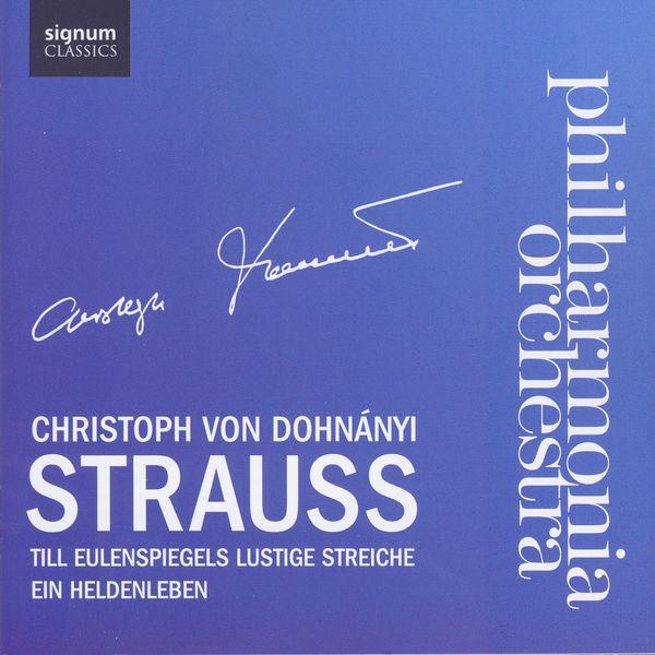 Philharmonia Orchestra - Strauss : Till Eulenspiegel - Ein Heldenleben