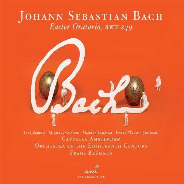 Frans Brüggen - J. S. Bach : Oratorio de Pâques BWV 249