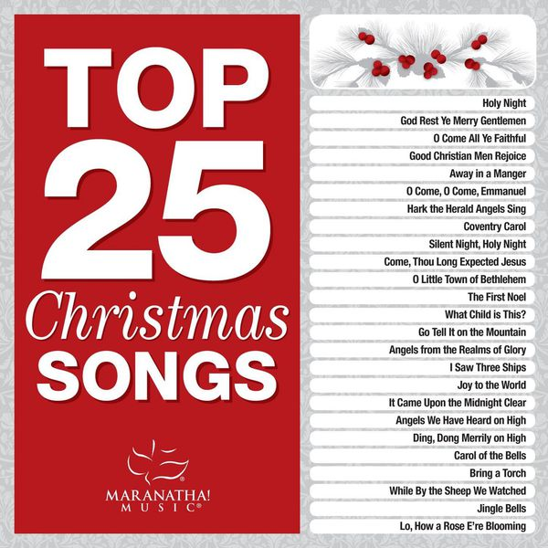 christmas top 25 christmas songs