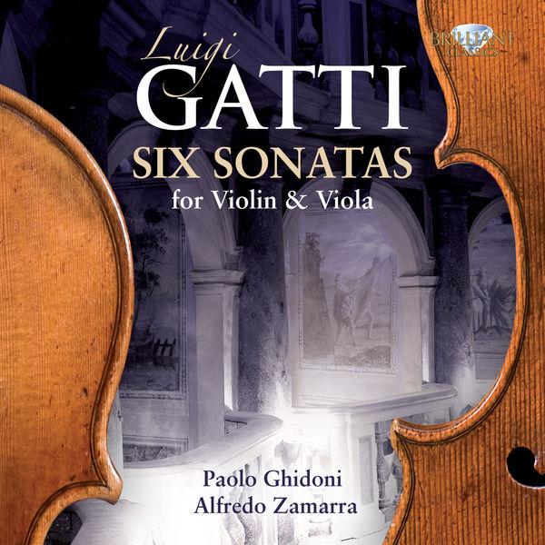 Paolo Ghidoni - 6 Sonates pour violon et alto