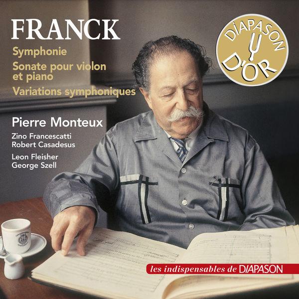 Pierre Monteux - Franck : Symphonie, Variations symphoniques...
