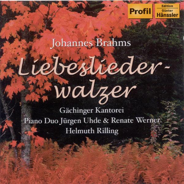 Jurgen Uhde and Renate Werner Piano Duo - Brahms: Liebeslieder Waltzes Op. 52 / Neue Liebeslieder Waltzes Op. 65