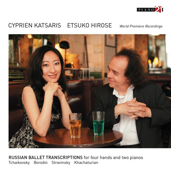 Cyprien Katsaris - Russian Ballet Transcriptions for Four Hands and Two Pianos
